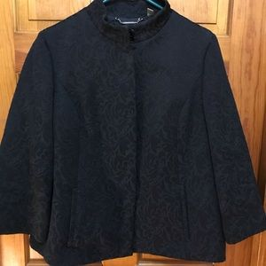 Gorgeous brocade black jacket